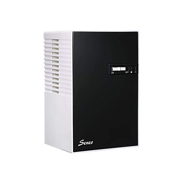 Seneo 除湿乾燥機 小型 400ml 梅雨・結露・湿気対策 省エネルギー 静音作業 リビングルーム、下駄箱、本棚、トイレ、車内などの除湿