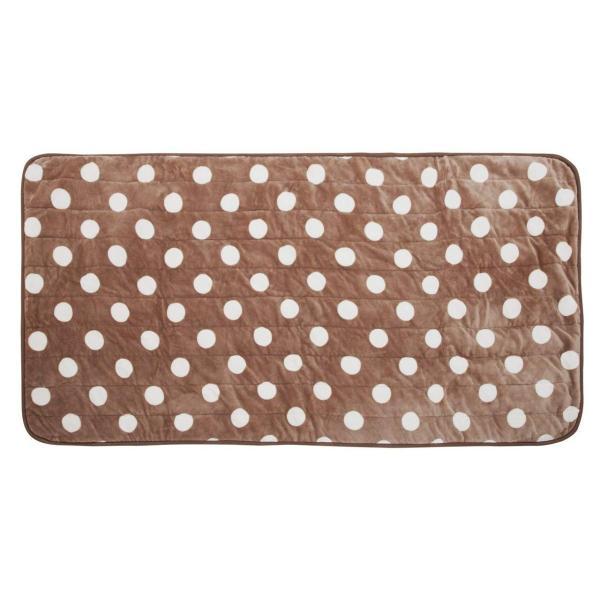 KOIZUMI(コイズミ) 本体丸洗い可能 ごろ寝マット205×100cm ブラウン KDM-7531/T