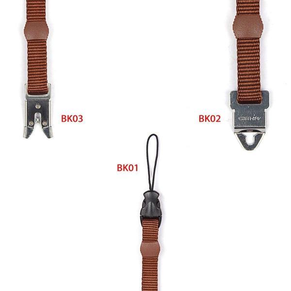 cam-in カムイン ストラップ アダプター/金具 BK01 (紐型)