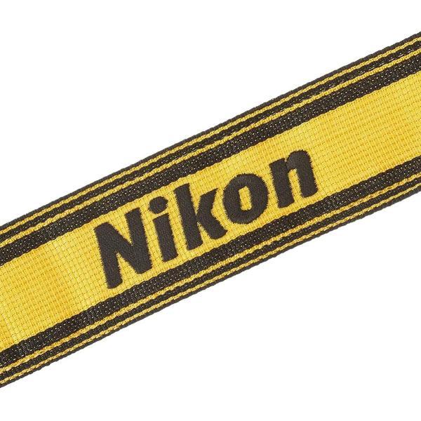 Nikon ネックストラップ 一眼レフ用 チェック イエロー AN-6Y