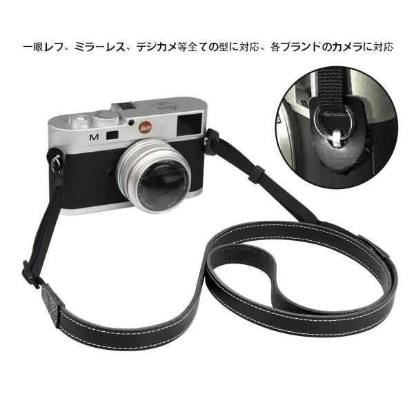 デジタル一眼レフカメラストラップ本革、カメラレザーストラップ、 一眼レフカメラ用ストラップ、 一眼レフ用、ミラーレス、デジタルカメラ等すべて