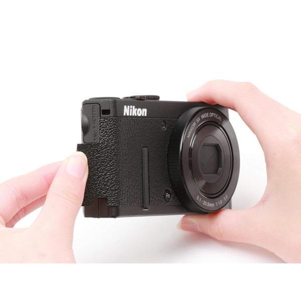 Japan Hobby Tool Nikon クールピクスP340用 張り革キット 4308 NikonF2タイプ ブラック