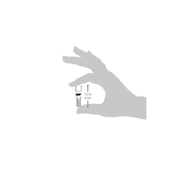 FURUTECH ADL オーディオグレード Yラグ端子 ロジウムメッキ処理 4本1組 FP201R