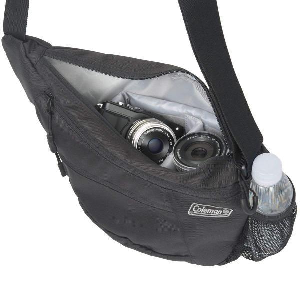 エツミ&Coleman コールマンカメラショルダーバッグ 2L CO-8700 ブラック