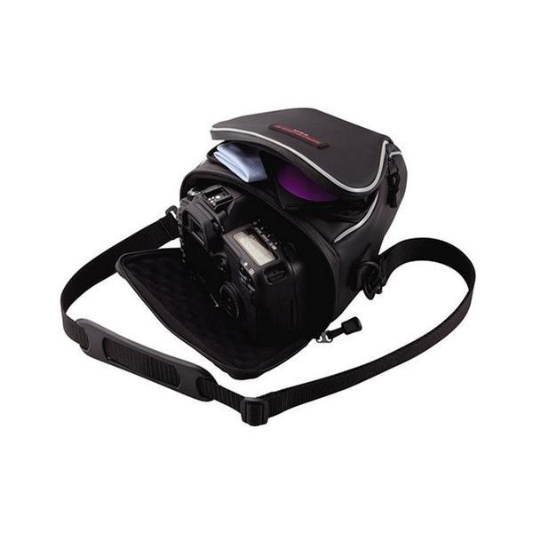 ELECOM デジタルカメラケース ブラック ZSB-SDG006BK