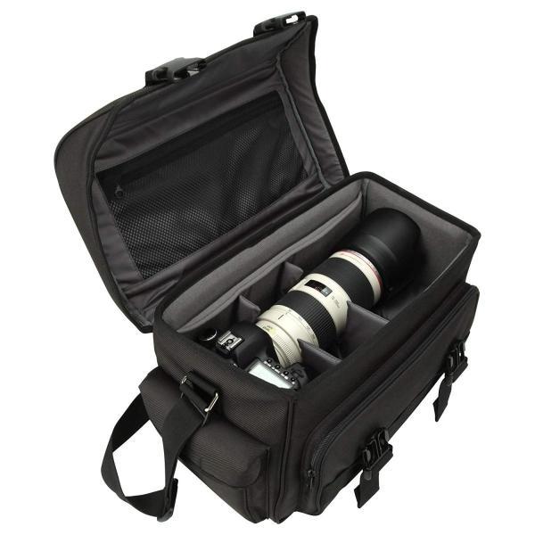 HAKUBA カメラバッグ ルフトデザイン リッジ 02 ショルダーバッグ L 16.7L 望遠レンズを付けたまま横向き収納 カモフラージュ|shop-frontier|07