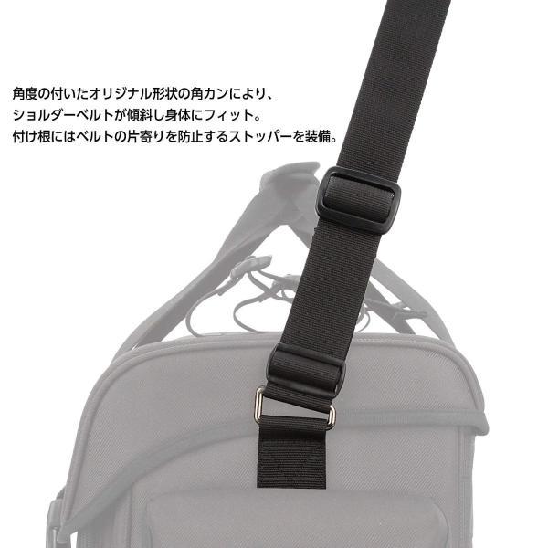 HAKUBA カメラバッグ ルフトデザイン リッジ 02 ショルダーバッグ L 16.7L 望遠レンズを付けたまま横向き収納 カモフラージュ|shop-frontier|08