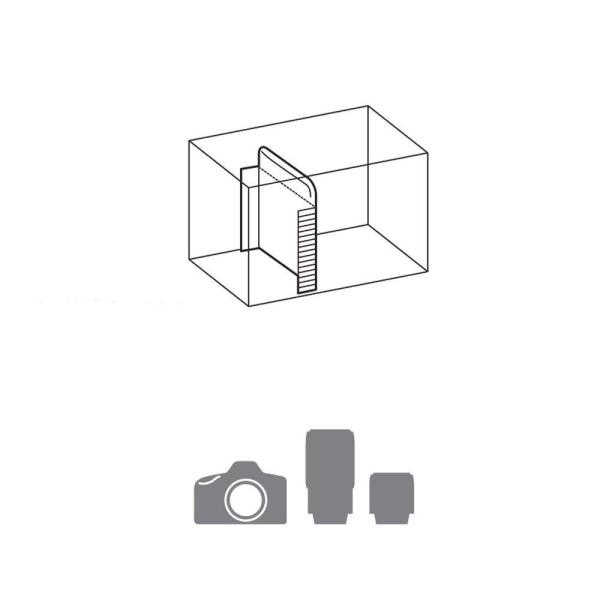 HAKUBA カメラバッグ ルフトデザイン アーバンウォーカー ショルダーバッグ M 4.4L ブラック SLD-UW-SBMBK|shop-frontier|04