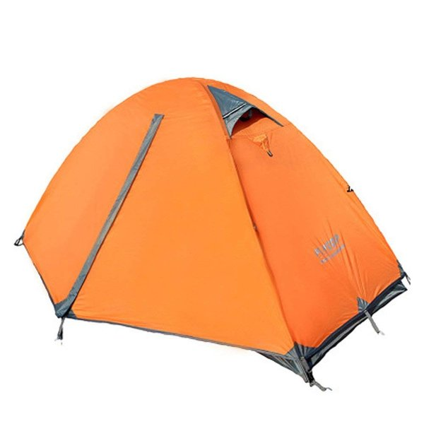 Kazumiya テント 一人用 二重層 超軽量 4シーズン 防風防水 uvカット メッシュ 通気 設営簡単 防災用 アウトドア用品 キャン|shop-frontier|09