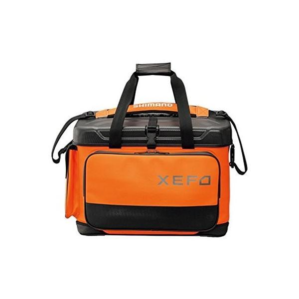 シマノ(SHIMANO) XEFO ロックトラバースバッグ BA-224Q トラバースオレンジ 45L 釣り バッグ
