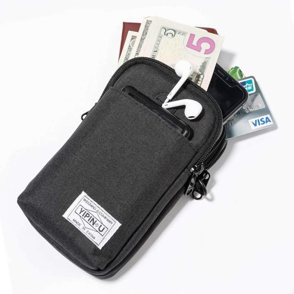 Elekin パスポートケース 首下げ スキミング防止 旅行グッズ ショルダーバッグ セキュリティポーチ 防犯対策 海外旅行/出張/ビジネス|shop-frontier|07