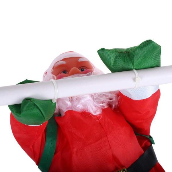 はしごサンタクロース2人 クリスマス装飾 クリスマスツリーハンギング 装飾 吊り飾り 窓 ドア 人形 クリスマスデコレーション ドア オーナ shop-frontier 02