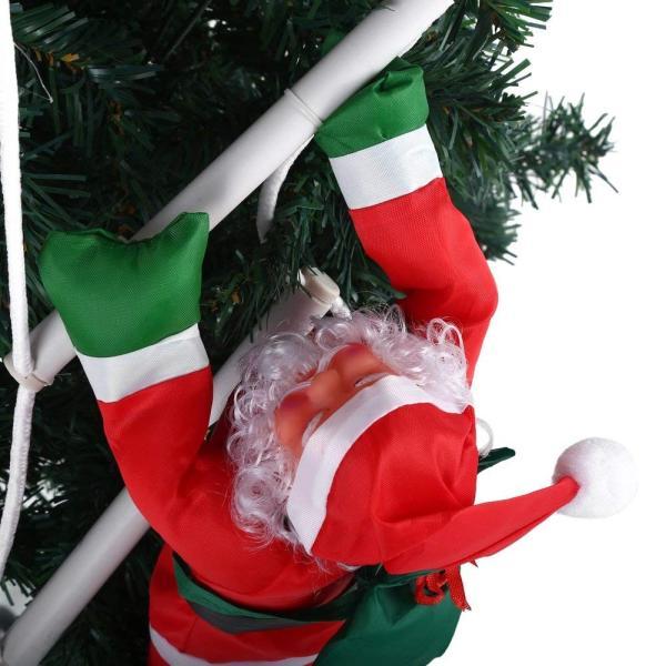 はしごサンタクロース2人 クリスマス装飾 クリスマスツリーハンギング 装飾 吊り飾り 窓 ドア 人形 クリスマスデコレーション ドア オーナ shop-frontier 04