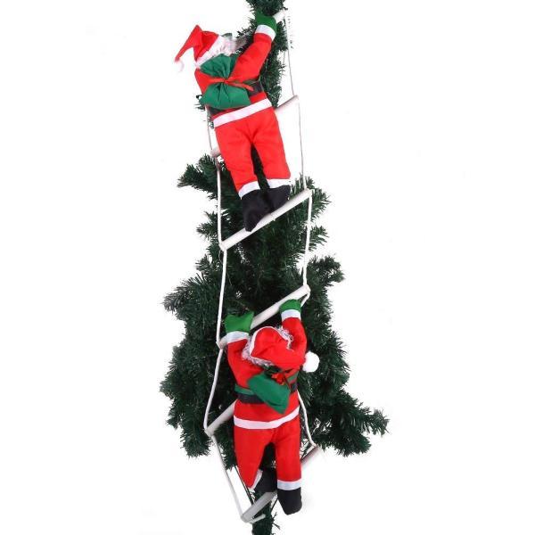 はしごサンタクロース2人 クリスマス装飾 クリスマスツリーハンギング 装飾 吊り飾り 窓 ドア 人形 クリスマスデコレーション ドア オーナ shop-frontier 07