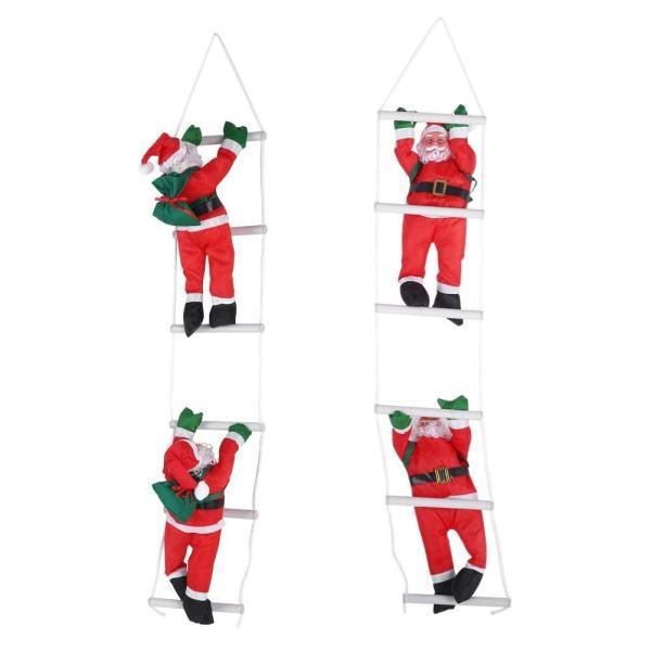 はしごサンタクロース2人 クリスマス装飾 クリスマスツリーハンギング 装飾 吊り飾り 窓 ドア 人形 クリスマスデコレーション ドア オーナ shop-frontier 09