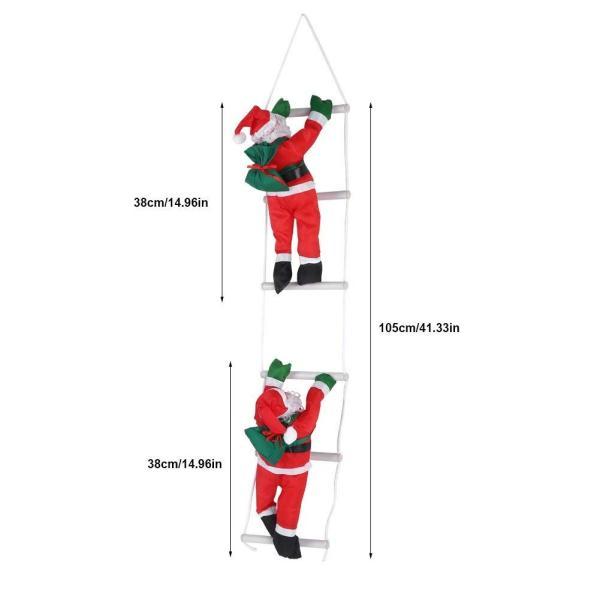 はしごサンタクロース2人 クリスマス装飾 クリスマスツリーハンギング 装飾 吊り飾り 窓 ドア 人形 クリスマスデコレーション ドア オーナ shop-frontier 10