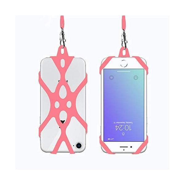 ROCONTRIP スマホのストラップ 落下防止 首掛け 4.7-6.0インチ汎用 iphone6 6s 柔らかい アウトドア用 おしゃれ|shop-frontier|07