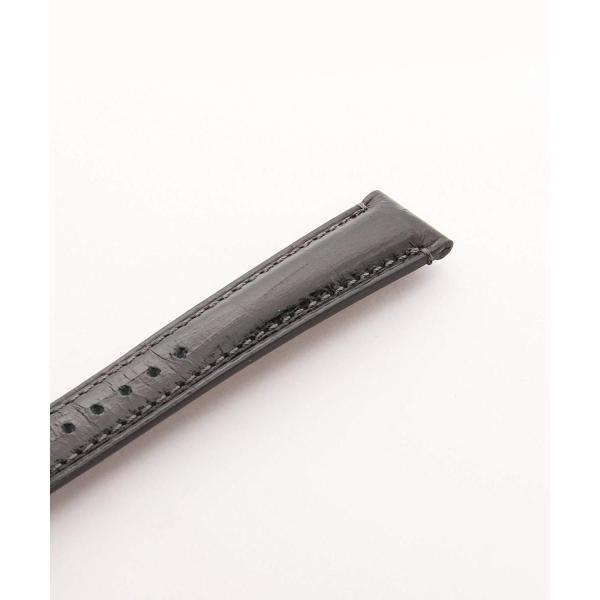 BAMBI (バンビ) エルセ時計バンド カーフ型押し 黒 17mm SK006A0-O メンズ