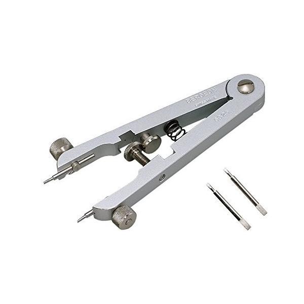 ベルジョン BERGEON 時計 ベルト交換工具 両つかみ式バネ棒外し 汎用替先2本セット BE6825 正規輸入品|shop-frontier
