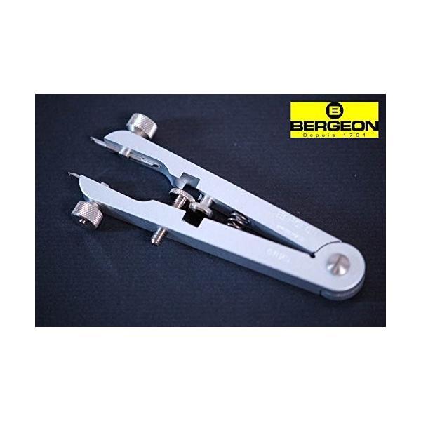 ベルジョン BERGEON 時計 ベルト交換工具 両つかみ式バネ棒外し 汎用替先2本セット BE6825 正規輸入品|shop-frontier|04