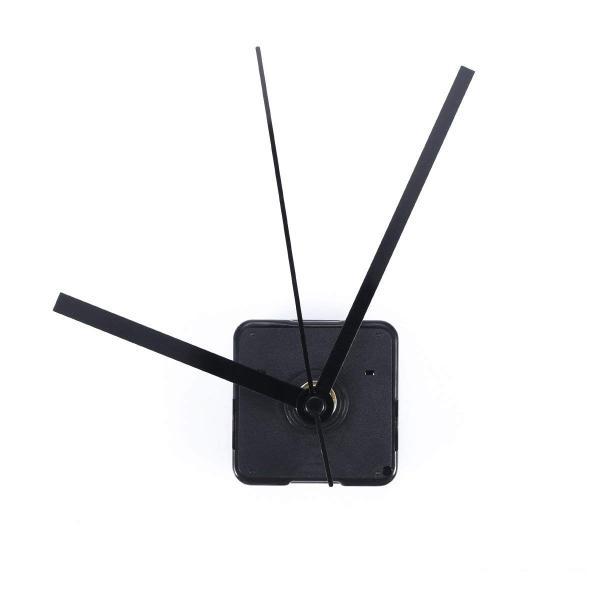 ULTNICE 時計ムーブメント 時計シャフト 時計補修パーツ DIY部品(黒)