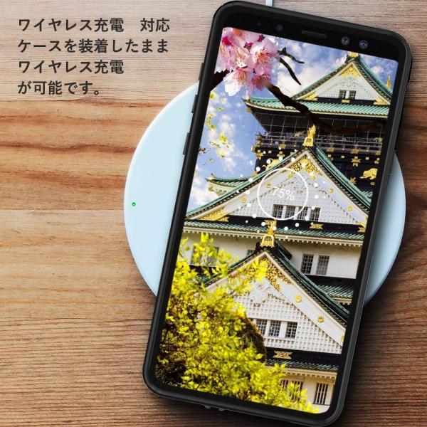 ギャラクシー Note9防水ケース Galaxy Note9カバー IP68規格 超強防水力 無線充電サポート 指紋認証対応 耐衝撃 防塵|shop-frontier|04