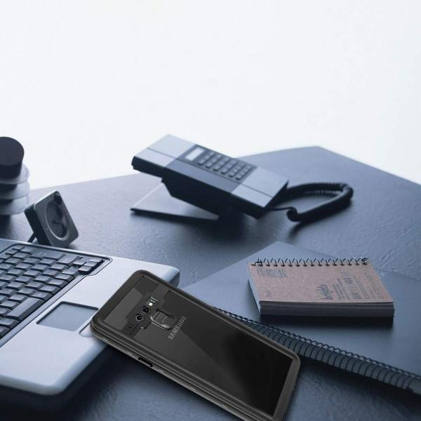 ギャラクシー Note9防水ケース Galaxy Note9カバー IP68規格 超強防水力 無線充電サポート 指紋認証対応 耐衝撃 防塵|shop-frontier|08