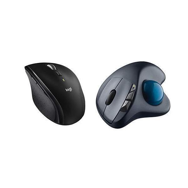 Logicool ロジクール ワイヤレスマラソンマウス SE-M705 7ボタン 快適形状 Mac/Win対応 長電池寿命 & ワイヤレスト|shop-frontier