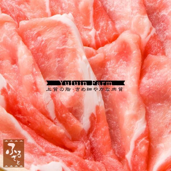 国産ハーブ豚 ロースしゃぶしゃぶ用 600g 生肉冷蔵便 豚肉 ゆふいん牧場 MHRS-30