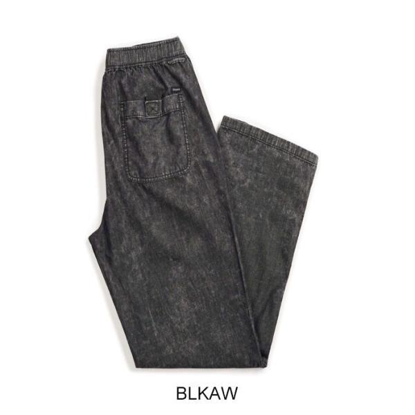 【5%還元】ブリクストン パンツ BRIXTON [ STEADY ELASTIC WAISTBAND PANT ] イージーパンツ [0304]|shop-hood|02