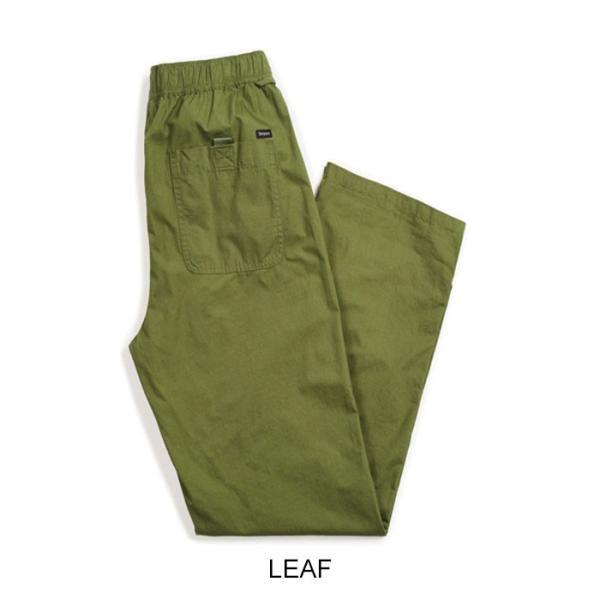 【5%還元】ブリクストン パンツ BRIXTON [ STEADY ELASTIC WAISTBAND PANT ] イージーパンツ [0304]|shop-hood|03