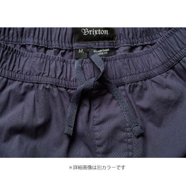 【5%還元】ブリクストン パンツ BRIXTON [ STEADY ELASTIC WAISTBAND PANT ] イージーパンツ [0304]|shop-hood|08