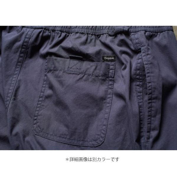 【5%還元】ブリクストン パンツ BRIXTON [ STEADY ELASTIC WAISTBAND PANT ] イージーパンツ [0304]|shop-hood|09
