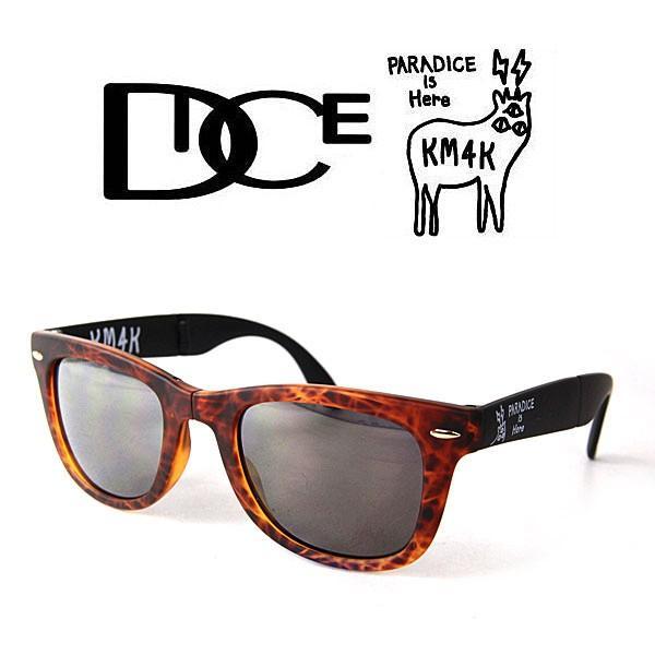 サングラス カモシカ ダイス DICE × KM4K [ PDG-01 ] KM4K  (BRBK) sunglass [0901] shop-hood
