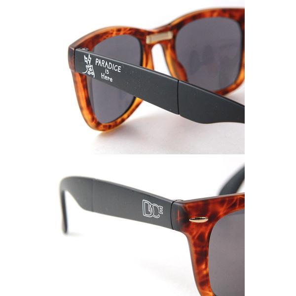 サングラス カモシカ ダイス DICE × KM4K [ PDG-01 ] KM4K  (BRBK) sunglass [0901] shop-hood 02