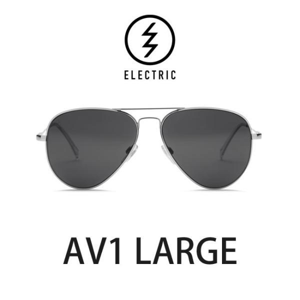 【5%還元】エレクトリック サングラス ELECTRIC AV1 LARGE PLATINUM / LENS:GREY メガネ 眼鏡 メンズ レディース UVカット ティアドロップ shop-hood