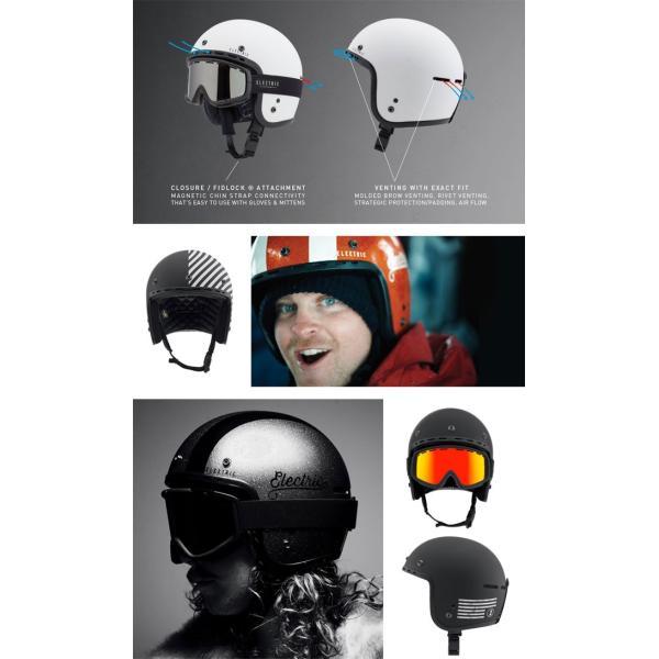 スノーボード ヘルメット ELECTRIC エレクトリック MASHMAN BK / LOGO スノーボード メンズ レディース helmet ヘルメット|shop-hood|04