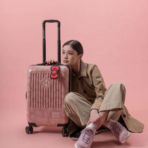 ハーシェル ハローキティ スーツケース コラボ キャリーバッグ Herschel TRADE SMALL (10602) HK Hello Kitty キャリーケース ハーシェルサプライ [0820]|shop-hood|09