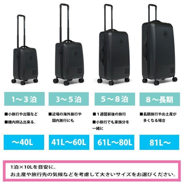 ハーシェル ハローキティ スーツケース コラボ キャリーバッグ Herschel TRADE SMALL (10602) HK Hello Kitty キャリーケース ハーシェルサプライ [0820]|shop-hood|10