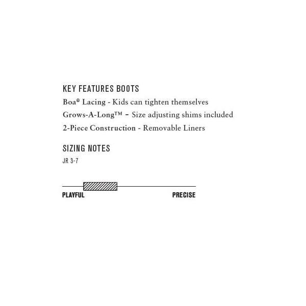 K2 キッズ スノーボードブーツ  ブーツ [ VANDAL ] 16/17 BLK スノボ ジュニア [1003]|shop-hood|02