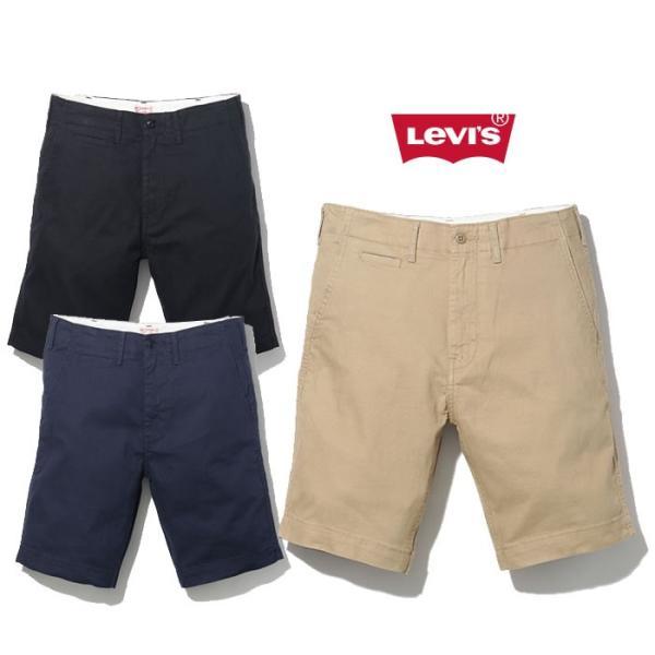 【5%還元】リーバイス ショートパンツ ハーツパンツ 半ズボン Levi's 52438 502 TRUE CHINO SHORT チノショーツ [メール便]|shop-hood