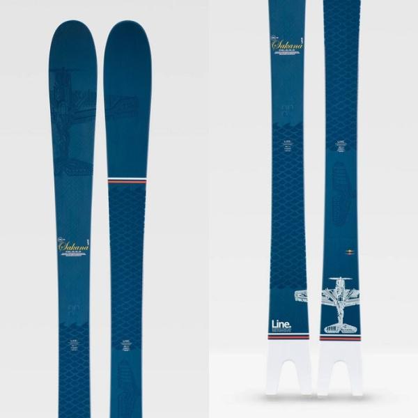 【5%還元】ライン スキー 板 LINE 19-20 [ SAKANA SKI ] サカナ 魚 174cm 181cm ラインスキー [0915]|shop-hood|02