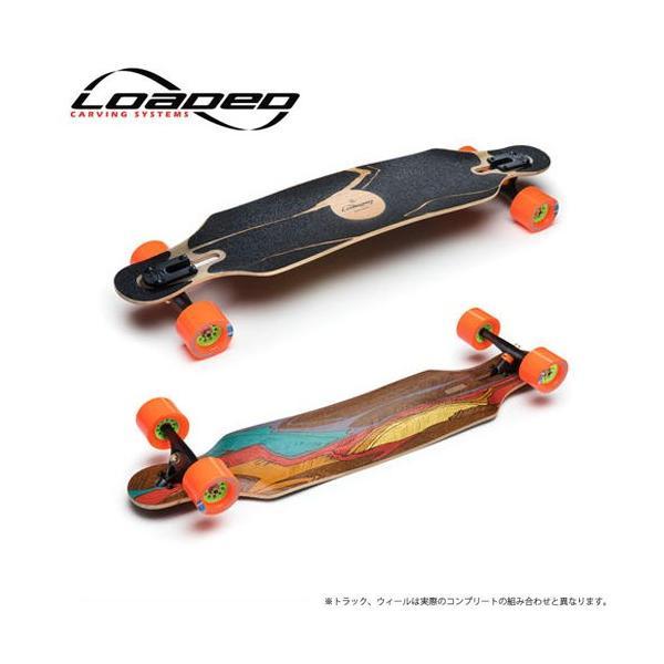 ローデッド ロングスケートボード コンプリート loaded イカロス icarus