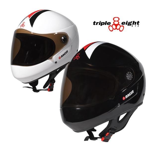 トリプルエイト レーサーヘルメット スケート triple eight T818R RACER HELMETS BMX メンズ ヘルメット 開心那 0601