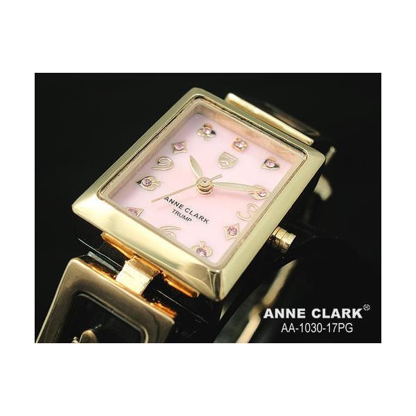 腕時計 レディース腕時計 送料無料  アンクラーク クリスマス ベルト調整工具なしで出来ます。レディース腕時計 aa1030-17pg  ピンク×ピンクゴールド