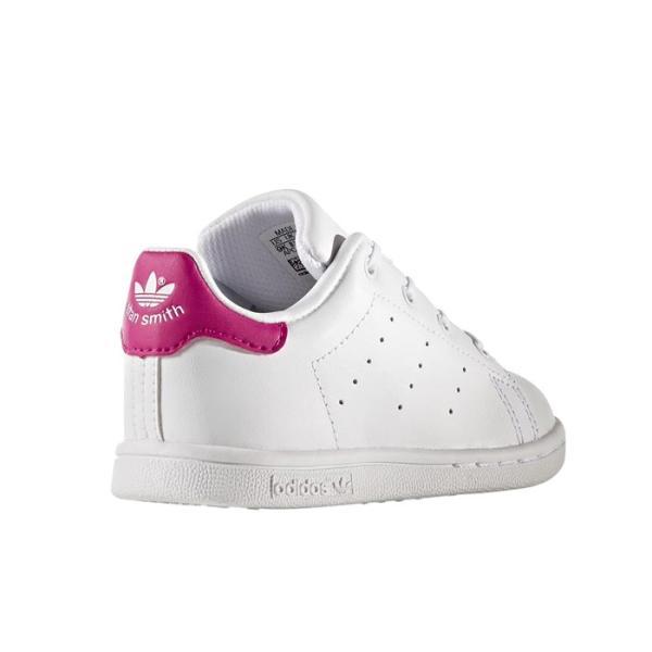 子ども用 アディダス adidas オリジナルス スタンスミス キッズ スニーカー レザー シューズ 靴 ホワイト ピンク originals STAN SMITH I KIDS BB2999|shop-kandj|03