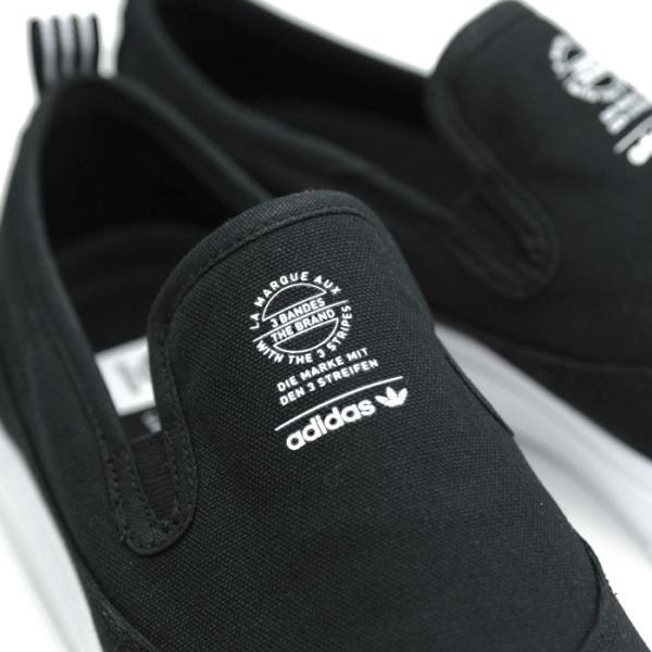 アディダス adidas スケートボーディング マッチコート スリップ スリッポン スニーカー メンズ ブラック 黒 SKATEBOARDING MATCHCOURT SLIP BLACK F37387 shop-kandj 03
