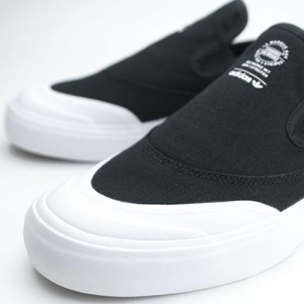 アディダス adidas スケートボーディング マッチコート スリップ スリッポン スニーカー メンズ ブラック 黒 SKATEBOARDING MATCHCOURT SLIP BLACK F37387 shop-kandj 04