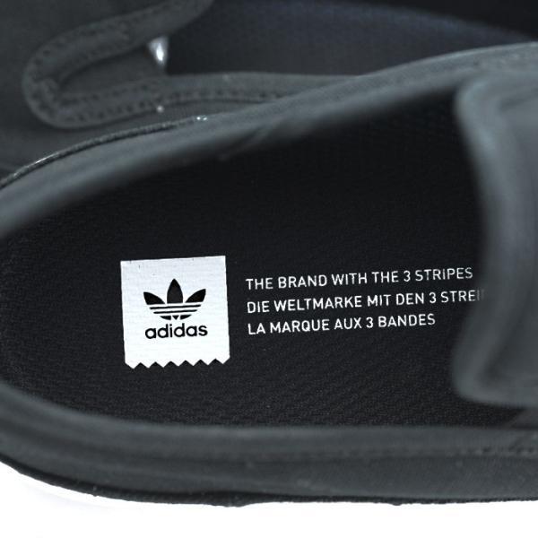 アディダス adidas スケートボーディング マッチコート スリップ スリッポン スニーカー メンズ ブラック 黒 SKATEBOARDING MATCHCOURT SLIP BLACK F37387 shop-kandj 06