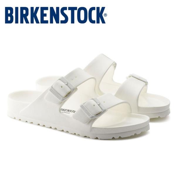 ビルケンシュトック Birkenstock アリゾナ EVA レディース メンズ サンダル 白 ホワイト 軽量 洗える コンフォートサンダル 2本ベルト Birkenstock|shop-kandj